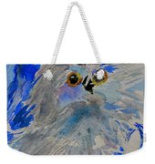 Teacup Owl Weekender Tote Bag
