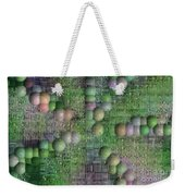 Technology Abstract Background Weekender Tote Bag by Michal Boubin