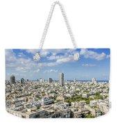 Tel Aviv Israel Elevated View Weekender Tote Bag