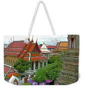 Temple Of The Dawn-wat Arun In Bangkok-thailand Weekender Tote Bag