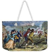 The Battle Of Concord, 1775 Weekender Tote Bag