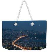 The Bosphorus Bridge  Weekender Tote Bag