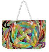 The Braid Weekender Tote Bag by Deborah Benoit