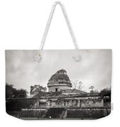 The Castillo In Chichen Itza Weekender Tote Bag