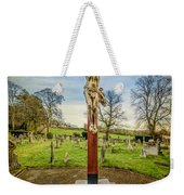 The Cross Weekender Tote Bag by Adrian Evans
