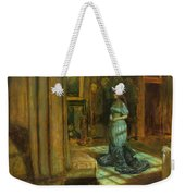 The Eve Of St Agnes Weekender Tote Bag