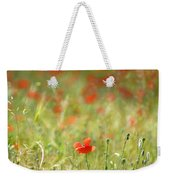 The First Poppy Of The Field Weekender Tote Bag