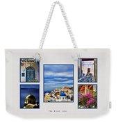 The Greek Isles Weekender Tote Bag