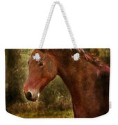 The Horse Portrait Weekender Tote Bag