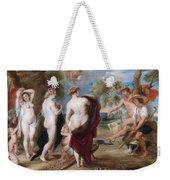 The Judgement Of Paris Weekender Tote Bag