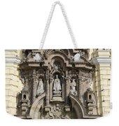 The Monastery Of San Francisco - Lima Peru Weekender Tote Bag