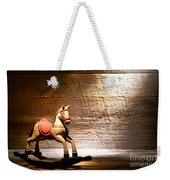 The Old Rocking Horse In The Attic Weekender Tote Bag