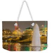 The Plaza Weekender Tote Bag