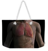 The Respiratory And Digestive Systems Weekender Tote Bag