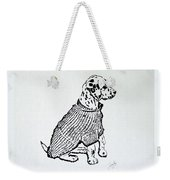The Sweater Girl Weekender Tote Bag