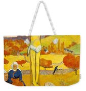 The Yellow Christ Weekender Tote Bag