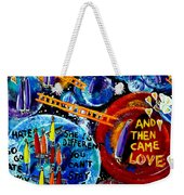 Then Came Love Weekender Tote Bag