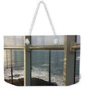 Through Lighthouse Window  Weekender Tote Bag
