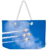 Thunderbirds In Formation  Weekender Tote Bag
