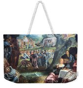 Tintoretto's The Worship Of The Golden Calf Weekender Tote Bag