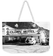 Tonopah Nevada - Clown Motel Weekender Tote Bag
