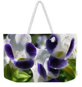 Torenia From The Duchess Mix Weekender Tote Bag by J McCombie