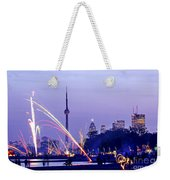 Toronto Fireworks Weekender Tote Bag