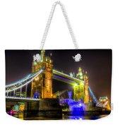 Tower Bridge Opening Weekender Tote Bag