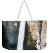 Tower Falls Yellowstone National Park Weekender Tote Bag