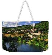 Town Of Sisteron In Provence Weekender Tote Bag
