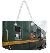 Tpw Rr Caboose Side View Weekender Tote Bag