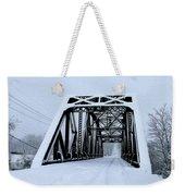 Train Bridge Weekender Tote Bag