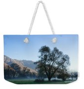 Tree And Mountain Weekender Tote Bag