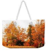 Trees Of Fall Weekender Tote Bag