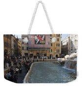 Trevi Fountain Rome Weekender Tote Bag