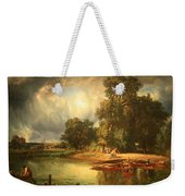Troyon's The Approaching Storm Weekender Tote Bag