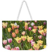 Tulips At Dallas Arboretum V92 Weekender Tote Bag