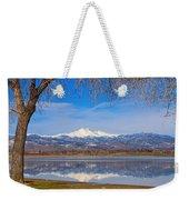 Twin Peaks Longs And Meeker Lake Reflection Weekender Tote Bag