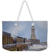 Tynemouth Pier Weekender Tote Bag