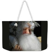 Upscale Father Christmas Weekender Tote Bag
