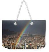 Urban Rainbow La Paz Bolivia Weekender Tote Bag