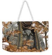 U.s. Army Soldier Conducts A Dismounted Weekender Tote Bag