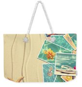 Vacation Postcards Weekender Tote Bag