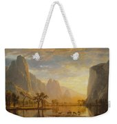 Valley Of The Yosemite Weekender Tote Bag
