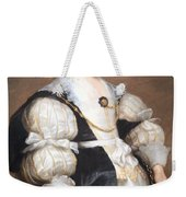 Van Dyck's Lady With A Fan Weekender Tote Bag