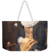Van Dyck's Portrait Of A Flemish Lady Weekender Tote Bag