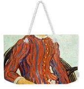 Van Gogh's La Mousme Weekender Tote Bag