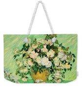 Van Gogh's Roses Weekender Tote Bag