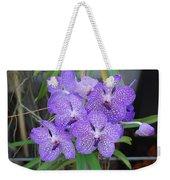 Vanda Orchid Weekender Tote Bag
