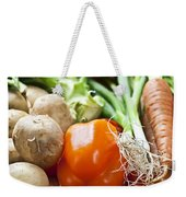 Vegetables Weekender Tote Bag by Elena Elisseeva